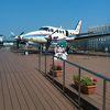 宮崎空港deエアプレインパークを見学