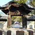 写真:本坊西通用門 (四天王寺)