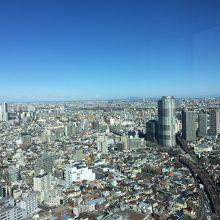 筑波山も見えます。