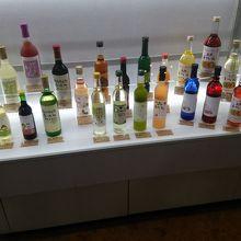 島根ワイナリーのワインたち