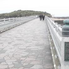 弥生橋より