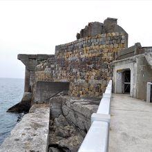 島への入り口