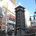 写真:旧青梅街道始点の標識