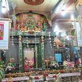 写真:スリ マリアマン ヒンドゥー寺院
