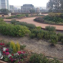 アトレ恵比寿の屋上庭園