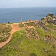 石垣島最西㟨の岬