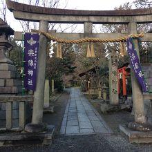 京都御苑内にある神社