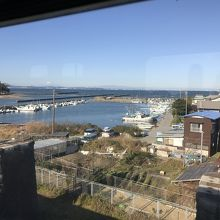JR内房線:東京湾沿いに