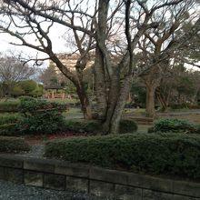 長浜城内の公園