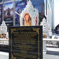 写真:ガネーシャ像 トリムルティの祠