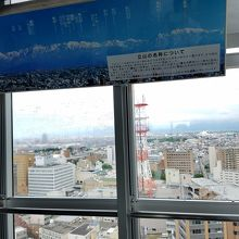 富山城から立山まで