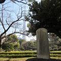 写真:藤田東湖「天地正大気」の漢詩碑