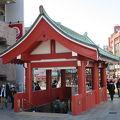 写真:地下鉄浅草駅出入口