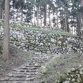 写真:七尾城跡