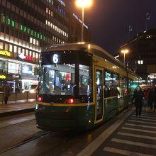 ヘルシンキ市内の移動にはとても便利な交通手段です