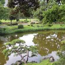 日比谷公園にある日本庭園