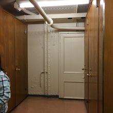 トイレの穴場、船内にウォシュレットのトイレが8つも。