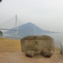鳴き龍がある面白い橋