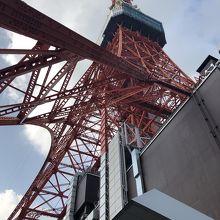 タワー下からの眺め