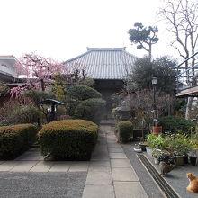 日蓮宗系の寺院です。