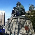写真:武田信玄公銅像