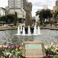 写真:水の守護神像