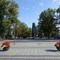 写真:クディルコス広場