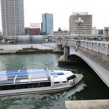 水上バスも通ります