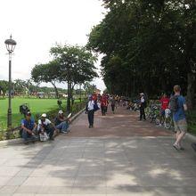 マニラ市の中心にある公園