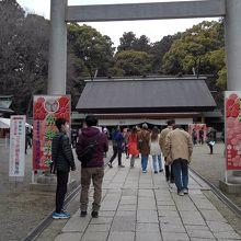 清々しい神社です。