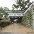 写真:岡山城 廊下門