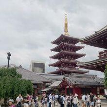 五重塔も江戸の誇り