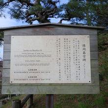 僊湖莫雪碑の説明