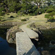 石橋を渡って大島へ