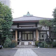 赤坂四丁目にある浄土宗寺院