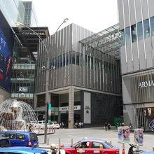 ブキビンタンの大規模ショッピングモール
