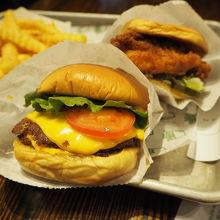 美味しいと評判のNY発ハンバーガー