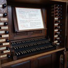 モーツアルトとシュヴァイツアーが弾いたオルガンがある教会。
