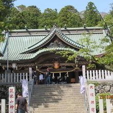 筑波山をお守りする神社