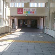駅直結の複合再開発ビル