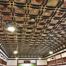 天井画が素敵です 永平寺 傘松閣