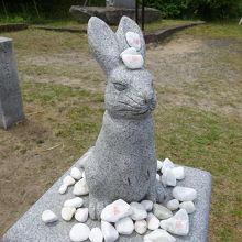 因幡の白兎伝説の神社
