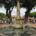 写真:ビクトリア女王噴水