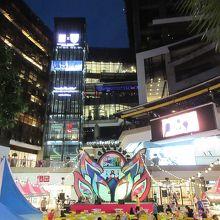 パタヤでも大きな近代的なショッピングモールです。