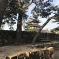 写真:史跡高松城跡 披雲閣