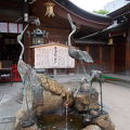 写真:櫛田神社 霊泉鶴の井戸