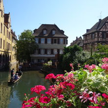 花と水の街