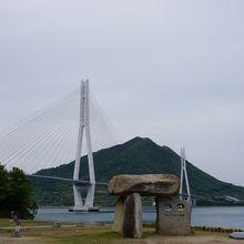 愛媛県と広島県の境界の橋