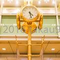 写真:金の時計