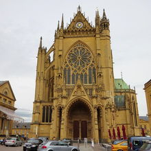 Metzの大聖堂